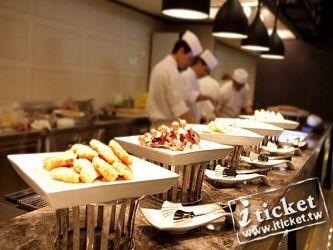 高雄麗尊酒店艾可柏菲法式自助料理平日晚餐券