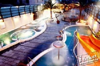 礁溪冠翔世紀溫泉會館-戶外風呂SPA+風味餐券