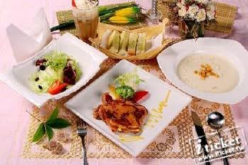 慈夢柔溫泉渡假會館.頂級法式套餐雙人券