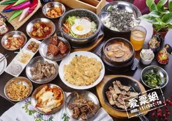 韓式料理槿韓食堂-韓式料理假日午/晚餐吃到飽餐券