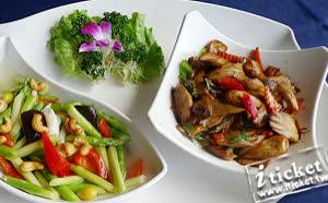 [愛票網] 台中 華進素食婚宴會館-歐式自助百匯吃到飽平日餐券