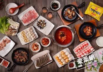 [愛票網] 高雄 槿韓食堂2F韓式料理太極鍋 單人平日午/晚餐吃到飽餐券
