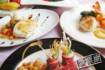 台中裕元3F銀賞鐵板炙燒套餐一客餐劵