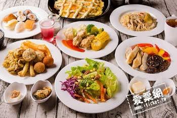 台中 田境蔬食餐廳 假日吃到飽餐券 (電子票券)