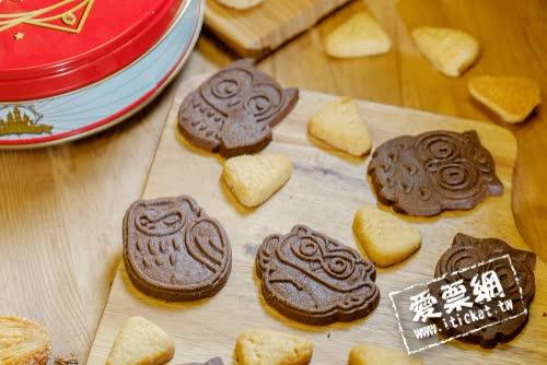 彰化 台灣優格餅乾學院 雙人手工造型餅乾DIY+見面禮 優惠套票(即買即用) (電子票券)