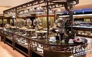 台中 清新溫泉飯店新采西餐廳 平日午餐券