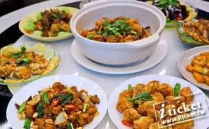 高雄貝邑軒干鍋海鮮燒烤-川味台菜六人套餐券